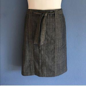 Calvin Klein Blue Skirt w/Belt